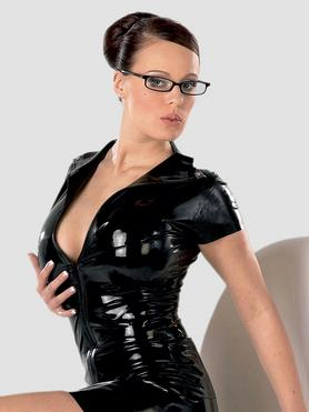 Late X Collection Zip Latex Top