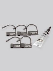 CB-6000 Male Chastity Cage Kit, Clear, hi-res