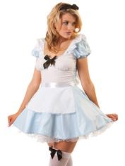 Classified Miss Alice Costume, Blue, hi-res