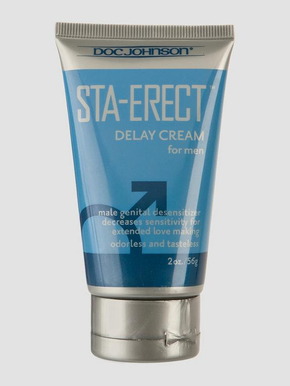 Doc Johnson Sta-Erect Delay Cream 1.9 fl oz, , hi-res