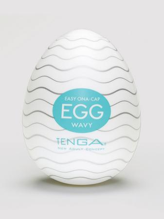 TENGA Egg Wavy Textured Male Masturbator