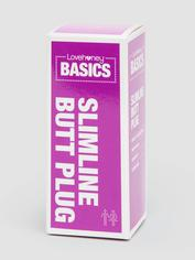 BASICS Slimline Butt Plug, Purple, hi-res