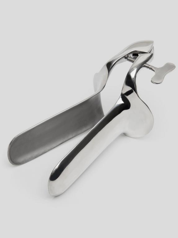 Smooth Steel Speculum, Silver, hi-res