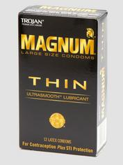 Trojan Magnum Large Ultra Thin Condoms (12 Count), , hi-res