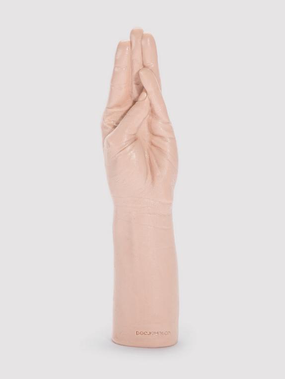 Doc Johnson Belladonna's Magic Hand Dildo, Flesh Pink, hi-res
