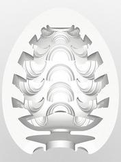 TENGA Egg Stepper Textured Male Masturbator, Clear, hi-res
