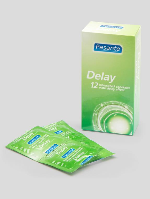 Pasante Delay Condoms (12 Pack), , hi-res