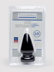 Doc Johnson TitanMen Large Ass Servant 6 Inch, Black, hi-res
