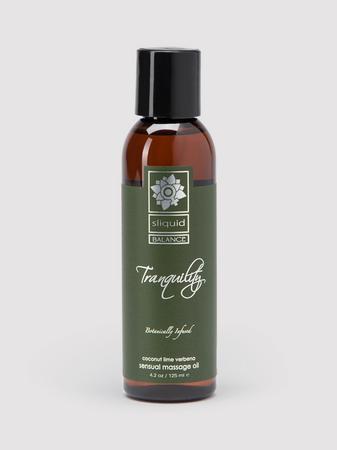 Sliquid Organics Tranquility Massage Lotion 4.2 fl.oz