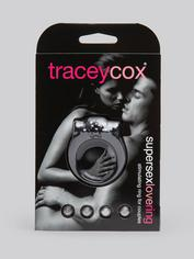 Tracey Cox Supersex Silicone Vibrating Love Ring, Black, hi-res