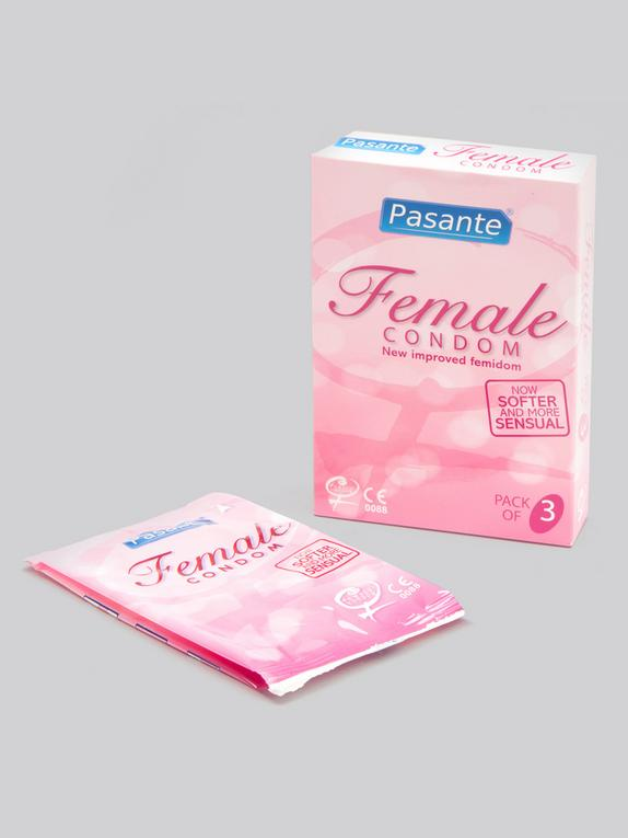 Pasante Female Condoms (3 Pack), , hi-res