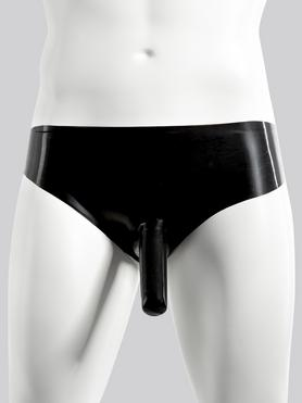Renegade Rubber Latex Pants with Penis Sheath