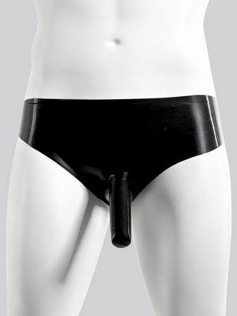 Renegade Rubber Latex Briefs with Penis Sheath