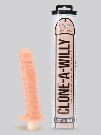 Clone-A-Willy Vibrator Create Your Own Penis Molding Kit