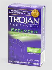 Trojan Extended Pleasure Condoms (12 Count), , hi-res
