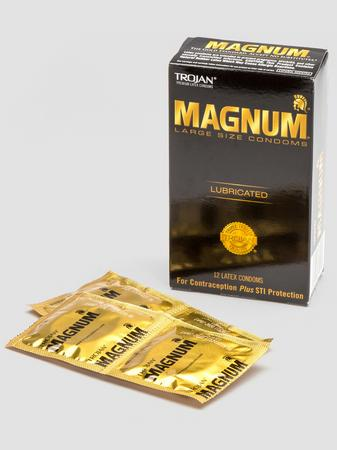 Trojan Magnum Large Condoms (12 Count)