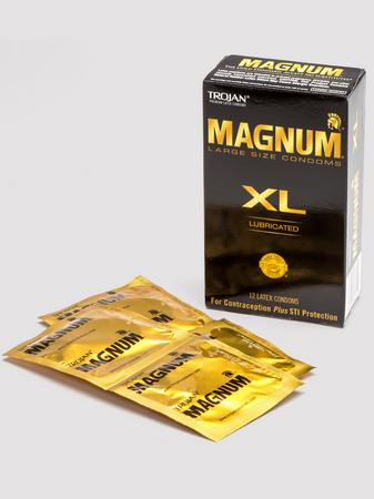 Trojan Magnum XL Condoms (12 Count)