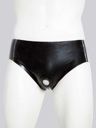 Renegade Rubber Latex Pants with Erection Ring