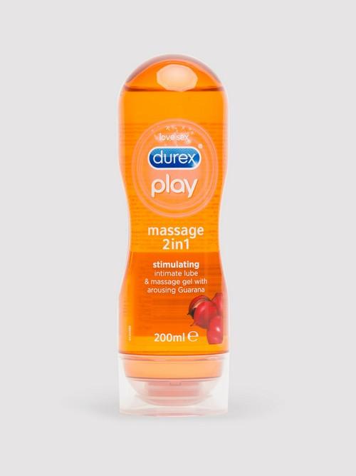 Lubrifiant intime stimulant Massage 2-in-1 200 ml, Durex Play