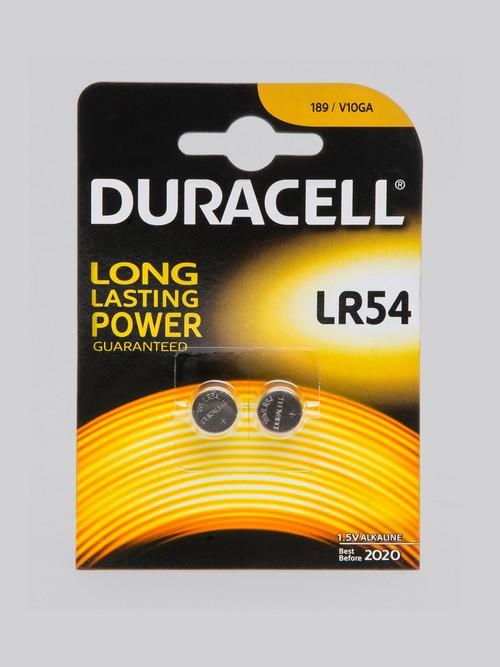 Piles alcalines LR54 (lot de 2), Duracell