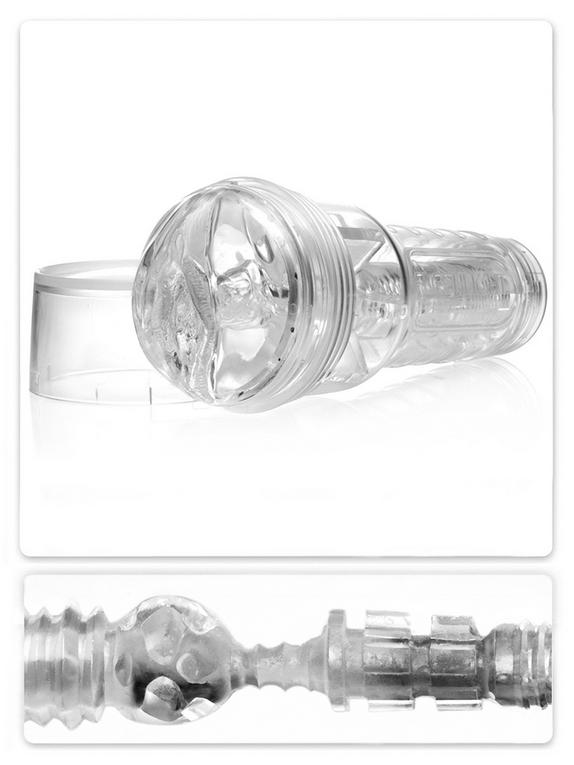 Fleshlight Ice Lady Crystal, Clear, hi-res