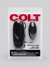 Colt Turbo Power Bullet Vibrator, Black, hi-res