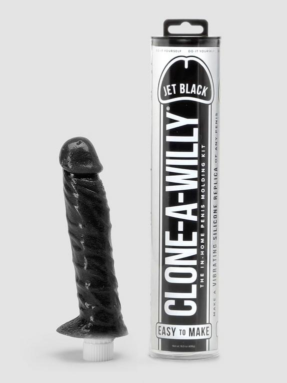 Clone-A-Willy Vibrator Moulding Kit Jet Black , , hi-res