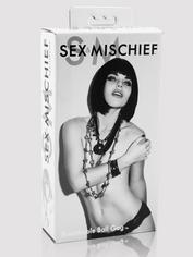 Sex & Mischief Breathable Ball Gag, Black, hi-res