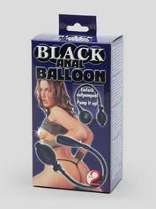 Anal Balloon Pump 2 Inch, Black, hi-res