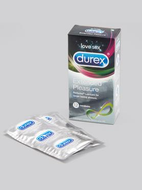 Durex Extended Pleasure Condoms (12 Pack)