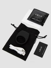 Lelo Tor 2 Luxury Rechargeable Vibrating Cock Ring, Black, hi-res