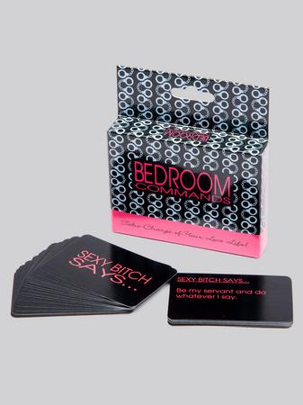 Bedroom Commands Sex Game Cards
