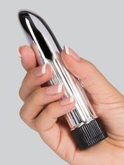 BASICS Powerful Mini Vibrator 5 Inch, Silver, hi-res