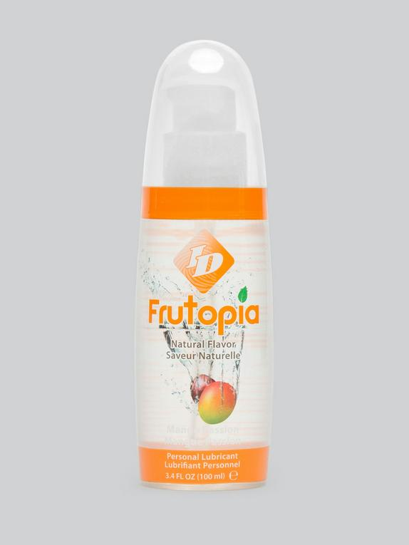 ID Frutopia Natural Mango Passion Flavored Lube 3.4 fl oz, , hi-res