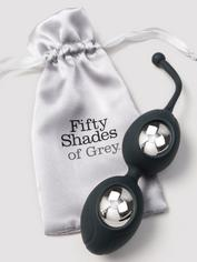 Fifty Shades of Grey Delicious Pleasure Silicone Ben Wa Balls 64g, Grey, hi-res