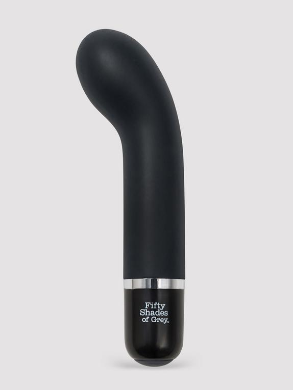 Fifty Shades of Grey Insatiable Desire Mini Silicone G-Spot Vibrator, Grey, hi-res
