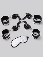 Fifty Shades of Grey Hard Limits Bed Restraint Kit, Silver, hi-res
