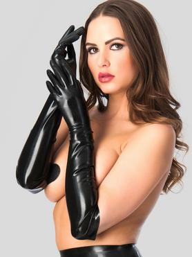 Guantes Largos de Látex de Rubber Girl