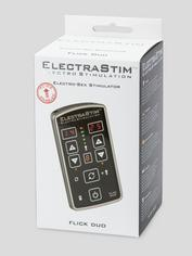 ElectraStim EM80-E Flick Duo Dual Channel Rechargeable Electro Sex Kit, Black, hi-res