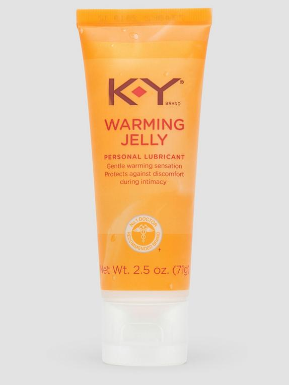 KY Warming Jelly Intimate Lubricant 2.5 fl oz, , hi-res