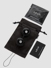 Lelo Luna Beads Noir Kegel Balls 72g, Black, hi-res