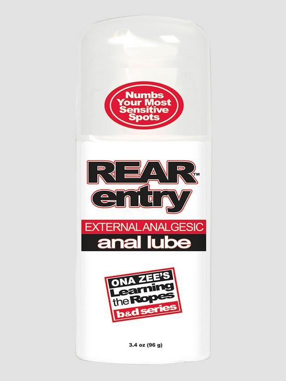 Doc Johnson Rear Entry Desensitising Anal Lube 3.4 fl oz, , hi-res