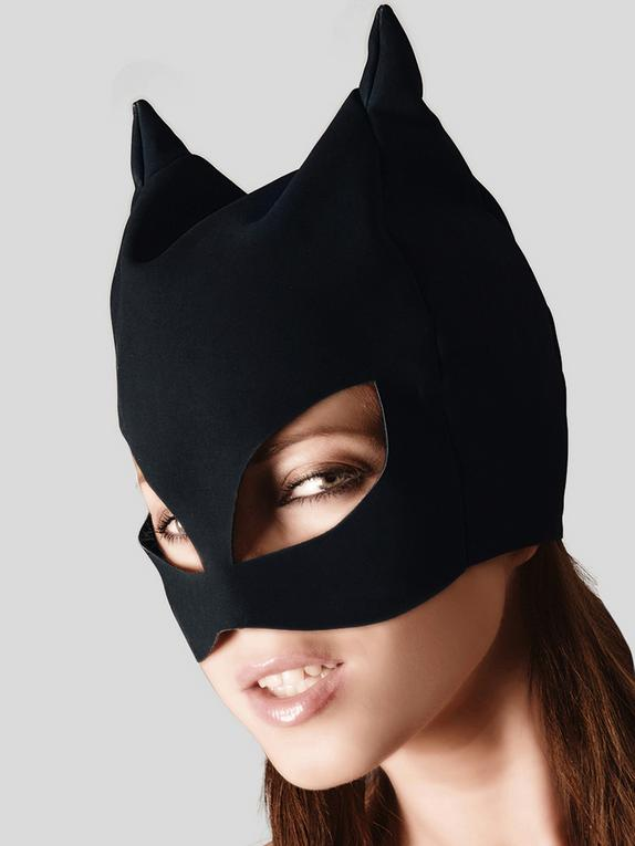 Bad Kitty Cat Mask, Black, hi-res