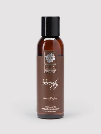 Sliquid Organics Serenity Massage Oil 4.2 fl.oz