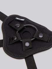 Doc Johnson Vac-U-Lock Luxe Harness with Plug and O-Rings, Black, hi-res
