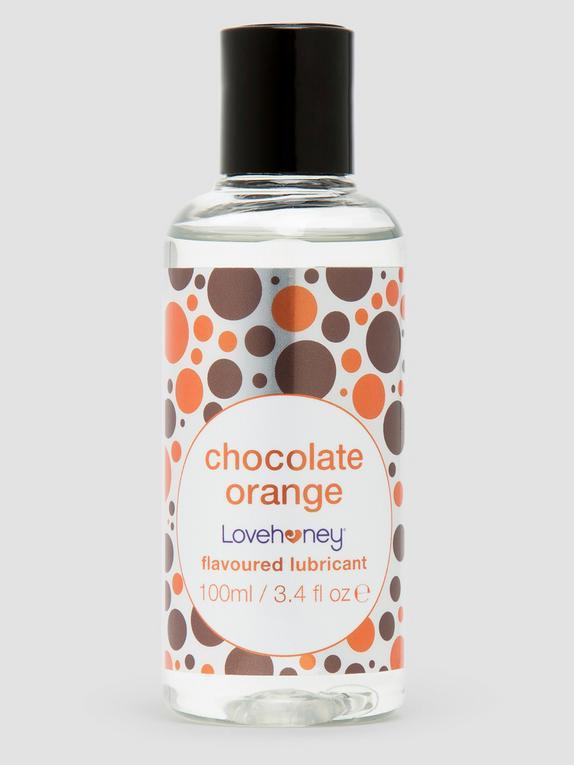 Lovehoney Chocolate Orange Flavoured Lubricant 100ml, , hi-res