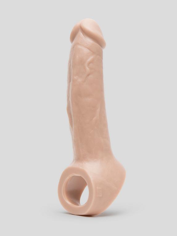 Vixen VixSkin Ride On 6.5 Inch Silicone Penis Extender, Flesh Pink, hi-res