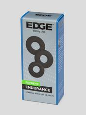 Tracey Cox EDGE Supreme Endurance Triple Stamina Ring Set (3 Pack), Black, hi-res