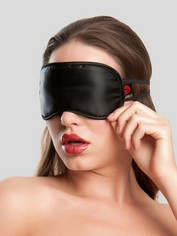 Lovehoney Oh! Satin Blindfold, Black, hi-res