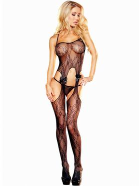 Lapdance See Through Lace Crotchless Bodystocking